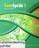 SamSpråk 1 Lärarhandledning (pdf)