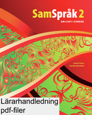 SamSpråk 2 Lärarhandledning (pdf)