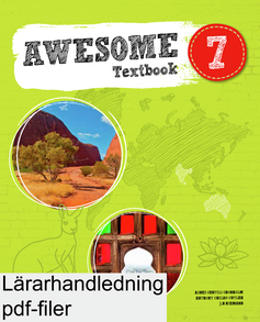 Awesome English 7 Teacher's Guide ljudfiler/facit (pdf + mp3)