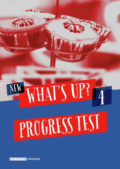 New What's Up? 4, Progress test (pdf+mp3)