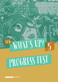 New What's Up? 5, Progress test (pdf+mp3)