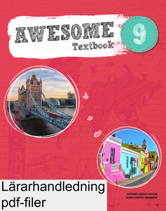 Awesome English 9 Teachers Guide + facit pdf, mp3