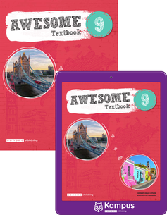 Awesome English 9 elevpaket, 1ex Textbok + 1ex digital