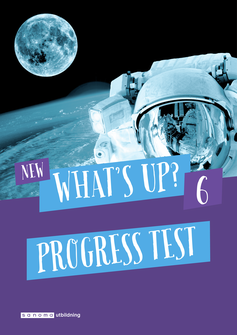 New What's Up? 6, Progress test (pdf+mp3)