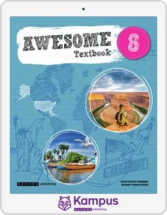Awesome English 8 Text/Aktiv. digital (lärarlicens)