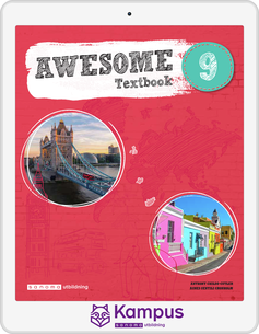 Awesome English 9 Text/Aktiv. digital (lärarlicens)