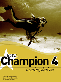 New Champion 4 Övningsboken